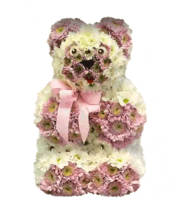 "composition ""Bear from flowers"""