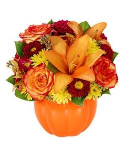 "bouquet ""Pumpkin Harvest"""
