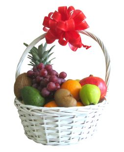 gift basket of fruits Tropicana