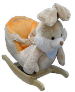 Rocking chair bunny