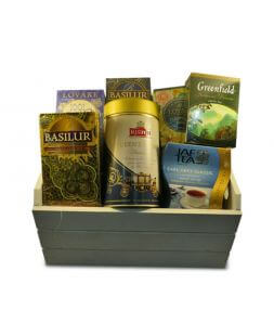 gift basket with tea Whim