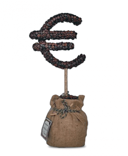 "Composition ""Coffee Euro"""