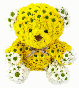 "Flower arrangement ""Bear"""