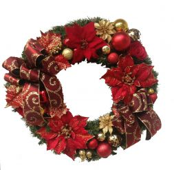 "Christmas wreath ""Brightness"""