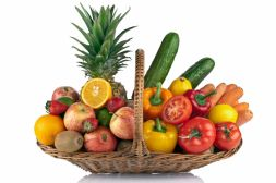 "Basket of fruits and vegetables "" The cheerful spirit"""