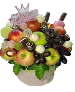 "Bouquet of fruits and sweets ""Explosion"""