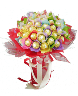 bouquet of sweets Ferrero Rocher
