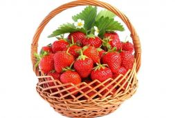gift basket with berries