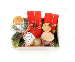 "Gift set ""Cocoa for the New Year"""