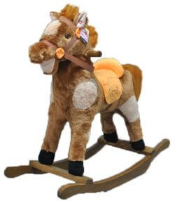 Rocking chair horse