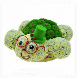 "Toy from flowers ""Turtle"""