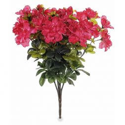 Bouquet of artificial azaleas