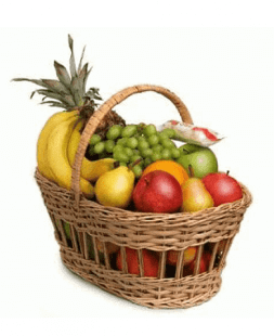 "Basket with fruits ""Tropical heaven"""
