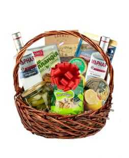 gift basket for the holiday