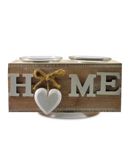"Candle holder ""Home"""