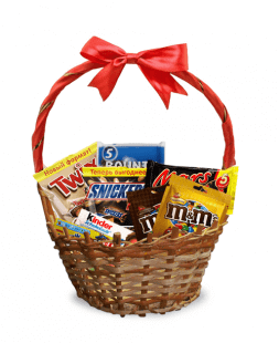 gift basket for sweet tooth