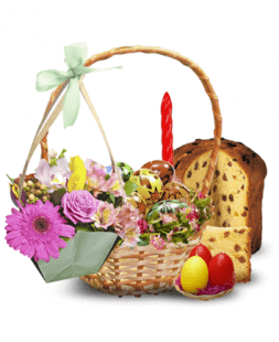 Easter composition for the loved ones