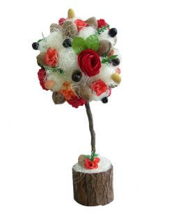 Decorative handmade tree