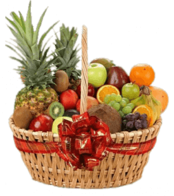 big basket with fruits Oasis