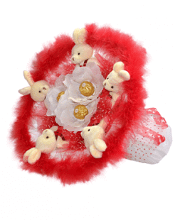 "Bouquet of ""Little bunnies"""