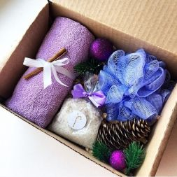 Gift set for a bath