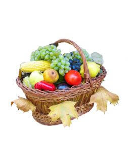 Basket of fruits and vegetables 5