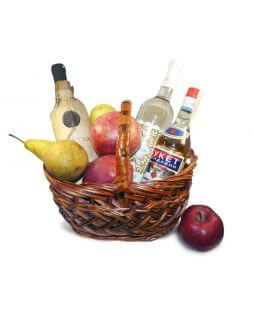 "Basket ""Wine bouquet"""