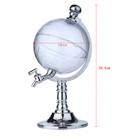 decorative globe for drinks