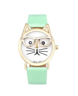 ladies watch with turquoise watchband