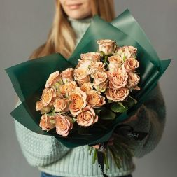 "bouquet of roses ""Cappuccino"""