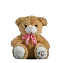 Bear ''Pasa'' with heart 28 cm