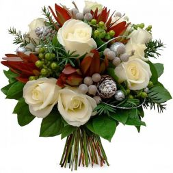 beautiful bouquet for the New Year