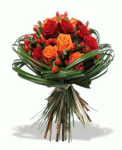 "Bouquet ""Cupids arrow"""