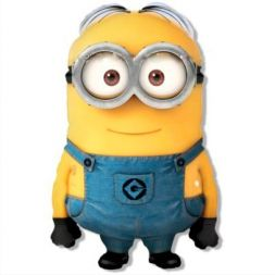 "balon din folie ""Minion"""