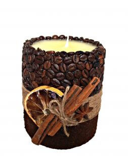 "Candle ""Coffee delight"""