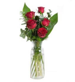 "bouquet of roses ""I love you"""