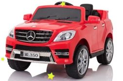 Электромобиль Mercedes Benz Red