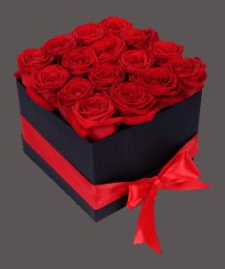 roses in a box 16 pcs