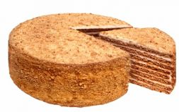 Medovik honey cake