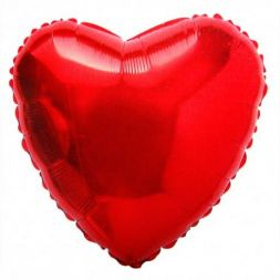 "foil balloon ""Big Heart"""