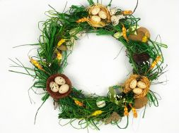 "composition ""Easter Wreath"""