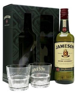 jameson whiskey in a gift box