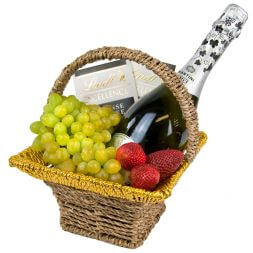 "Fruit basket and wine ""Imperial"""
