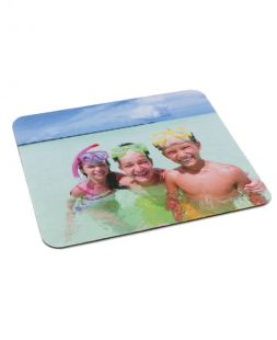 Mouse mat with print