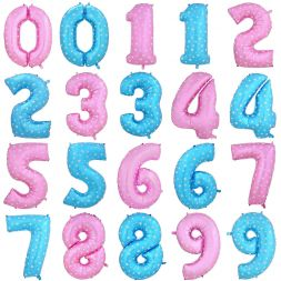 "foil balloon ""Numbers 0-9"""