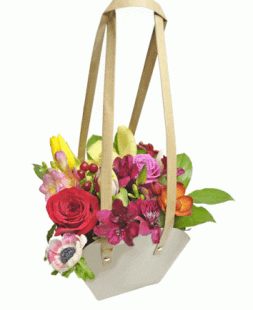 handbag with flowers for my beloved