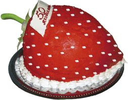 "Cake ""Strawberries"""