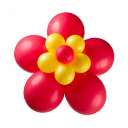 flower of balloons