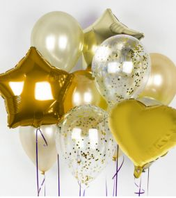 "Set ""Golden balloons"""