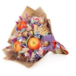 Bouquet of fruits and candies ''Favorit''